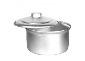 Aluminium Topes Basary With Lid